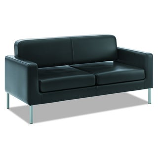 basyx by HON VL888 Series Black Reception Seating Sofa