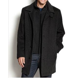 Nautica Men's Black Single-Breasted Wool Overcoat|https://ak1.ostkcdn.com/images/products/10481822/P17570552.jpg?impolicy=medium