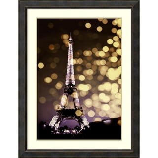 Kate Carrigan 'Icon-Paris' Framed Art Print 34 x 44-inch