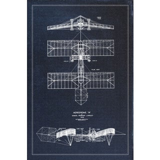 "Marmont Hill - ""Aerodrome"" Licensed Smithsonian Print on Canvas"