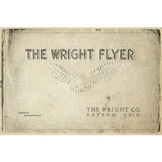 """Marmont Hill - """"Wright Flyer"""" Licensed Smithsonian Print on Canvas - Multi-color"""