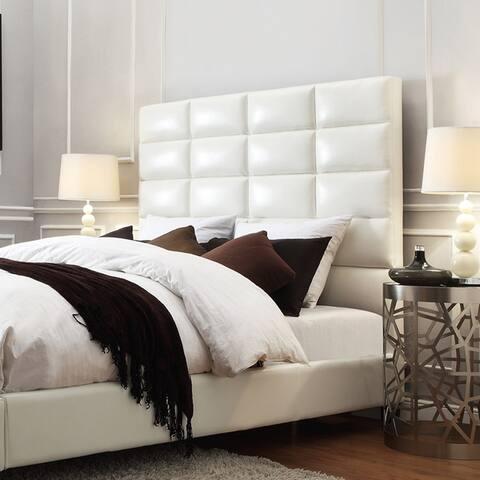 Tower High Profile Upholstered Full-sized Headboard iNSPIRE Q Modern