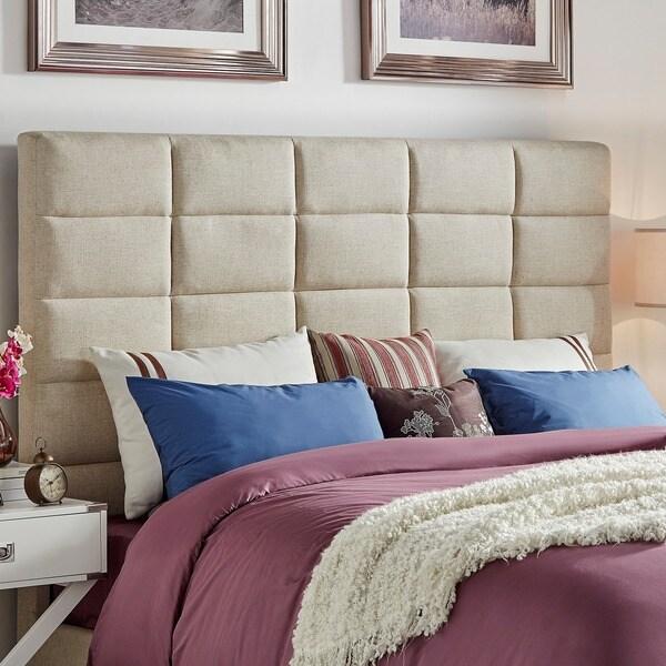 tower high profile upholstered kingsized headboard inspire q modern