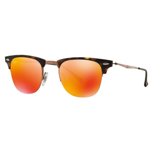 1b1c12dcd7 Shop Ray-Ban Men s RB8056 Tortoise Titanium Square Sunglasses - Free ...