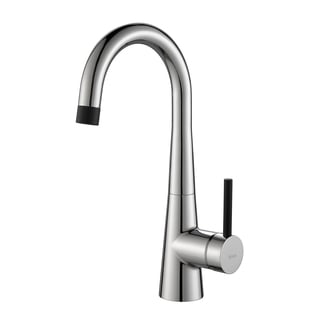 KRAUS Crespo Single-Handle Kitchen Bar Faucet in Chrome