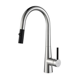 KRAUS Crespo Single-Handle Kitchen Faucet with Pull Down Dual-Function Sprayer