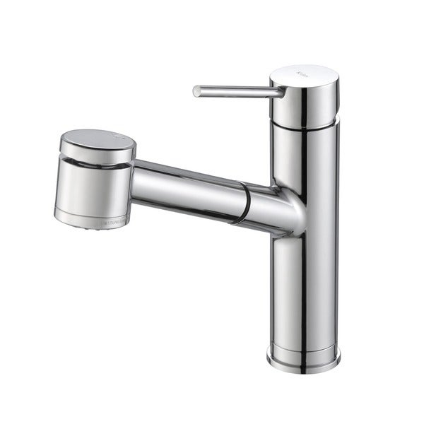 Good KRAUS Oletto Single Handle Kitchen Faucet With Pull Out Dual Function  Sprayer