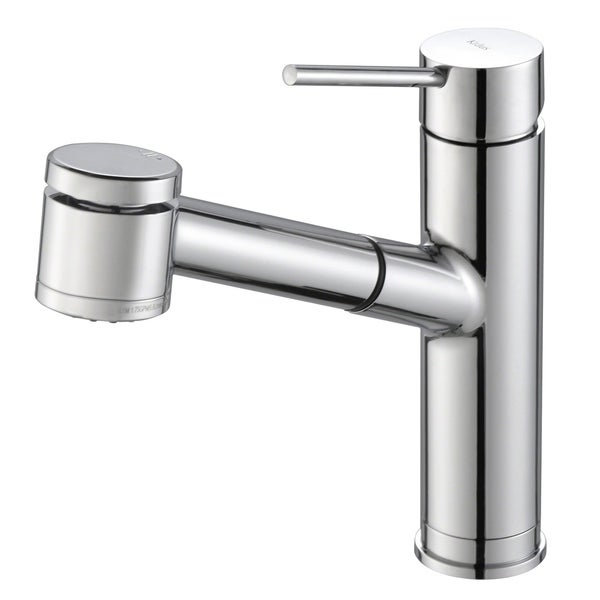 Kraus KPF-2610 Oletto 1-Handle 2-Function Sprayhead Pull Out Kitchen Faucet