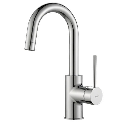 KRAUS Oletto Single-Handle Kitchen Bar Faucet