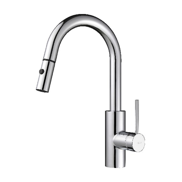 KRAUS Oletto Single-Handle Kitchen Faucet with Pull Down Dual ...