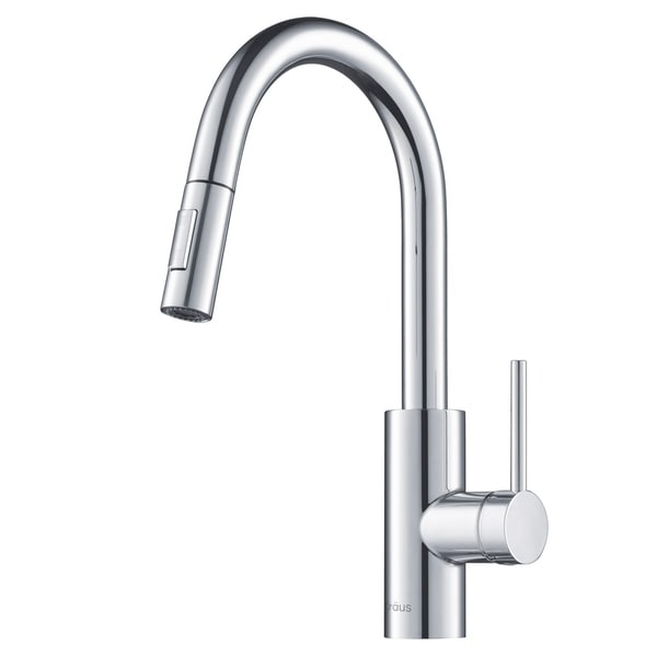 Kraus KPF-2620 Oletto 1-Handle 2-Function Sprayhead Pull Down Kitchen Faucet