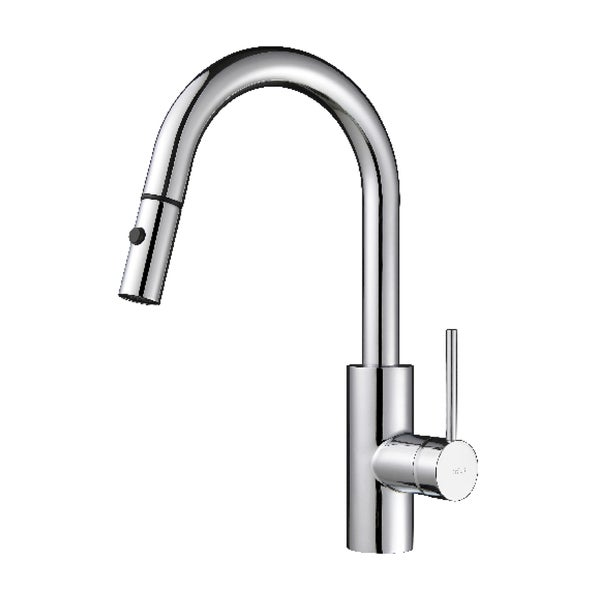 Where Are Kraus Faucets Made : KRAUS Oletto Single-Handle Kitchen Faucet with Pull Down Dual-Function ...