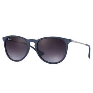 Ray-Ban RB4171 Erica Color Mix Sunglasses Blue/ Gunmetal Grey Gradient 54mm - Blue