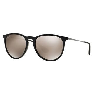 Ray-Ban Men's RB4171 Black Plastic Pilot Sunglasses