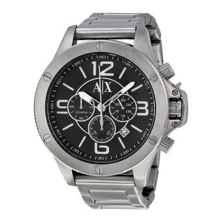 Armani Exchange Men's AX1501 Chronograph Stainless Steel Watch
