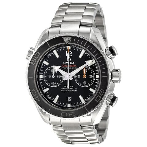 Omega Men's O23230465101001 'Seamaster' Chronograph Automatic Stainless Steel Watch