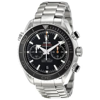 Link to Omega Men's O23230465101001 'Seamaster' Chronograph Automatic Stainless Steel Watch Similar Items in Men's Watches