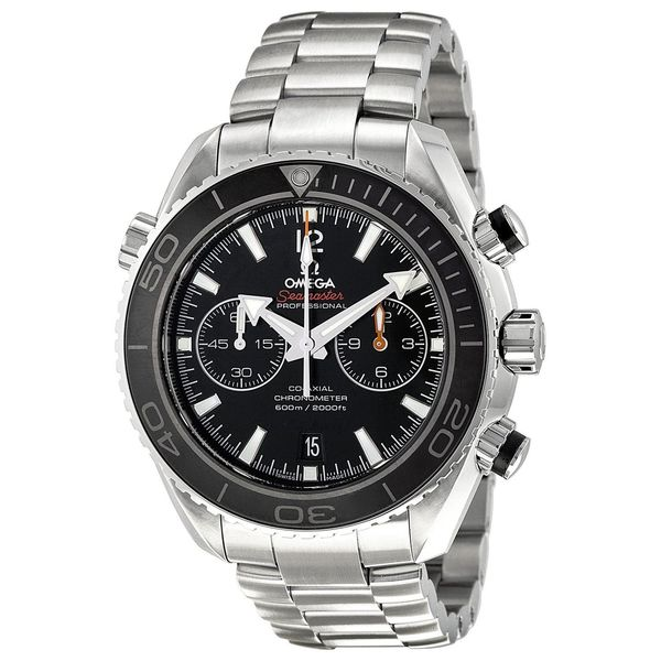 Omega Men's O23230465101001 'Seamaster' Chronograph Automatic Stainless Steel Watch. Opens flyout.