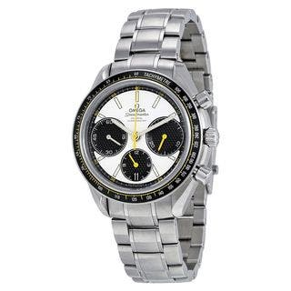 Omega Men's O32630405004001 'Speedmaster Racing Co-Axial' Chronograph Automatic Stainless Steel Watc|https://ak1.ostkcdn.com/images/products/10482307/P17570909.jpg?impolicy=medium