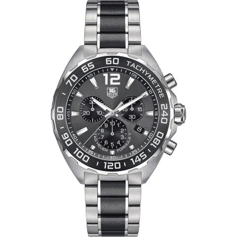 Tag Heuer Men's CAZ1111.BA0878 'Formula One' Chronograph Two-Tone Stainless Steel Watch