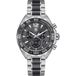Link to Tag Heuer Men's CAZ1111.BA0878 'Formula One' Chronograph Two-Tone Stainless Steel Watch Similar Items in Men's Watches