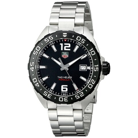 Tag Heuer Men's WAZ1110.BA0875 'Formula One' Stainless Steel Watch