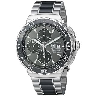 Tag Heuer Men's 'Formula One' Chronograph Automatic Two-Tone Ceramic Watch