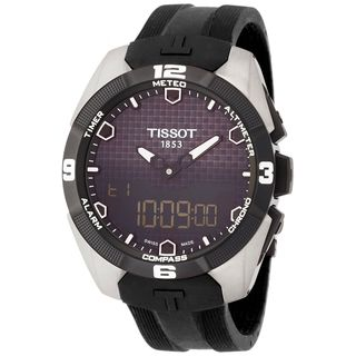 Tissot Men's T0914204705100 'T-Touch Expert' Black Rubber Watch