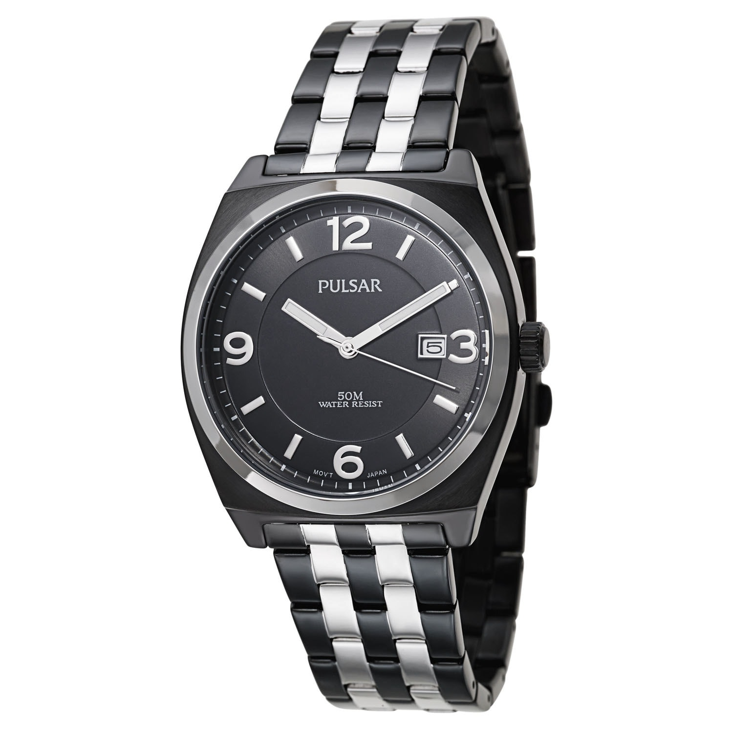 PULSAR Men's PS9281 Watch (casual-watches), Black, Size O...
