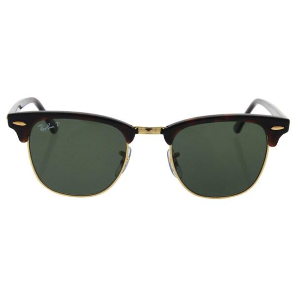 3916e06317 Shop Ray-Ban Men s RB3016 Tortoise Plastic Square Polarized Sunglasses -  Free Shipping Today - Overstock.com - 10482638