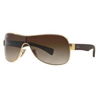 Ray-Ban Men's RB3471 Gold Metal Pilot Sunglasses