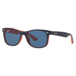 Ray-Ban Junior RJ9052S Blue Plastic Square Sunglasses
