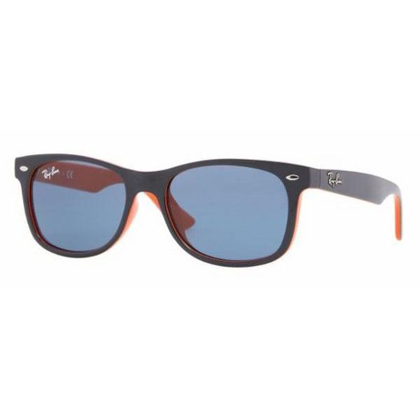 3eb2a44046 Shop Ray-Ban Junior RJ9052S Blue Plastic Square Sunglasses - Free Shipping  Today - Overstock.com - 10482802