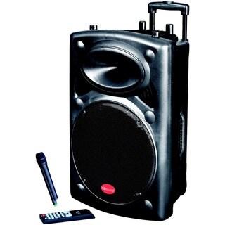 IQ Sound IQ3012DJBT Speaker System - 25 W RMS - Portable - Battery Re