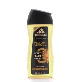 Adidas Victory League Guarana Stimulating 3-in-1 Hair, Body, & Face Shower Gel