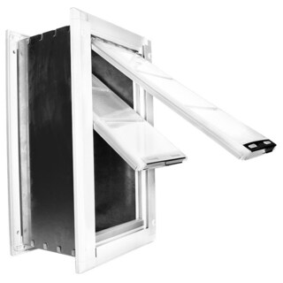 Endura Flap Double Flap Pet Door for Walls (More options available)