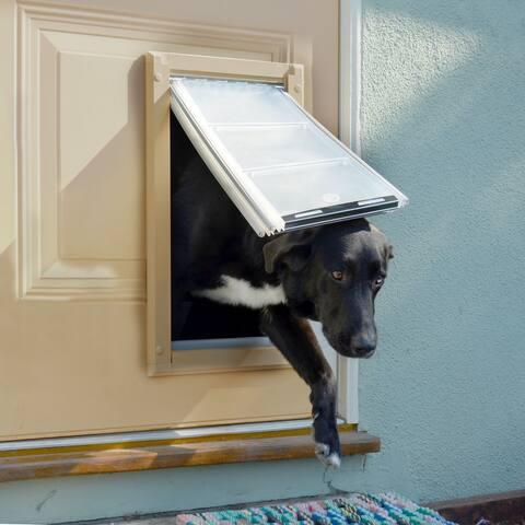 Endura Flap Double Flap Pet Door for Doors