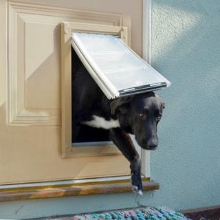 Endura Flap Aluminum/Polyolefin Double-flap Pet Door for Doors & Pet Doors For Less | Overstock