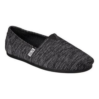 Women's Skechers BOBS Plush Express Yourself Alpargata Black (More options available)