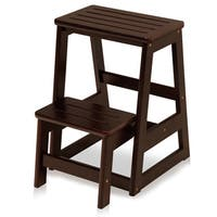 Cosco 3 Step Wood Folding Step Stool Free Shipping Today