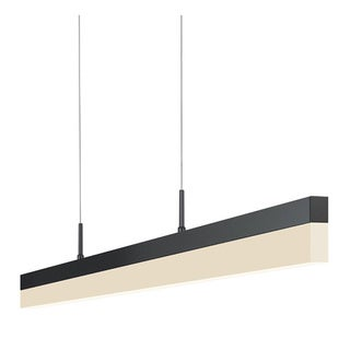 Lago 47-inch Acyrilic LED Pendant Lamp with Remote Control Dimmer