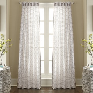 Raymond Jacquard Curtain Panel Pair