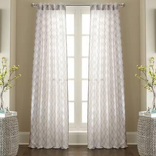 Amraupur Overseas Raymond Jacquard Curtain Panel Pair https://ak1.ostkcdn.com/images/products/10484834/P17573190.jpg?impolicy=medium