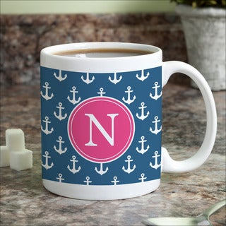 Anchors Away Personalized Coffee Mug