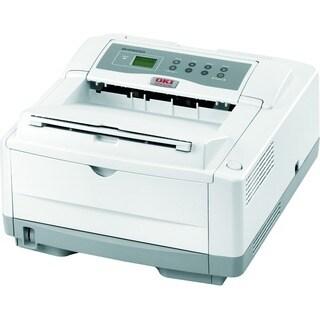 Oki B4600N LED Printer - Monochrome - 600 x 2400 dpi Print - Plain Pa