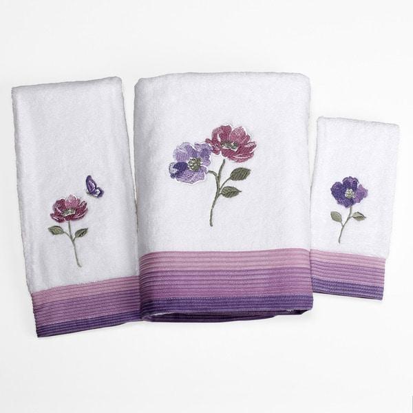 Shop Saturday Knight Floral Waltz 3 Piece Towel Set Free