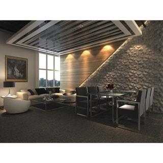 3D Wall Panels Plant Fiber Cave Design (10 Panels Per Box)