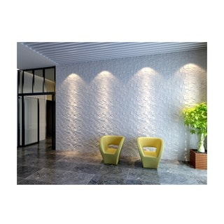 Link to 3D Wall Panels Plant Fiber Ice Design (10 Panels Per Box) Similar Items in Wall Coverings