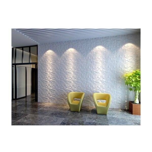 3D Wall Panels Plant Fiber Ice Design (10 Panels Per Box). Opens flyout.