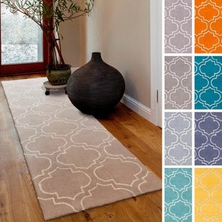 Hand-Tufted Langport Wool Rug (2'3 x 12') - 2'3 x 12'